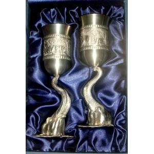 Strieborné poháre