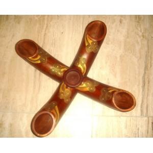 Bambusový svietník