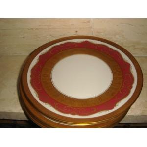 Dezertné tanieriky pozlatené