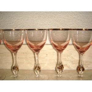 6 ks pohárov - Zlatá Zuzana